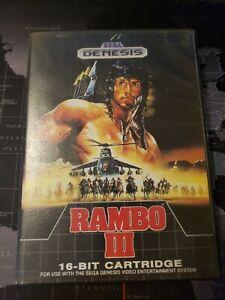 Rambo 3 (Sega Genesis). Game/Case No Manual