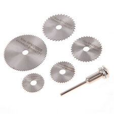5+1 Steel Circular Saw Blade Set For Dremel rotary tool die grinder pipe cutting