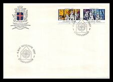 Iceland 1987 FDC, Europa CEPT XXVIII. Modern Art Within Architecture. Lot # 2.