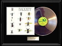 SYD BARRETT WHITE GOLD SILVER PLATINUM TONE RECORD RARE ALBUM LP PINK FLOYD