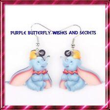 Dumbo Looking up, Disney, Acrylic Drop Earrings, 1 Pair,Free Post, Aussie Seller