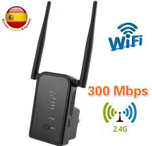 Repetidor WiFi 300Mbps Extensor WiFi Amplificador WiFi 2.4G Señal Inalambrica
