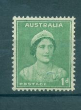 QUEEN ELIZABETH - AUSTRALIA 1937/1949 Common Stamp 1d Green