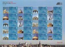 2009 Rome Italia Stamp Exhibition Full Smiler Sheet - Unmounted Mint.