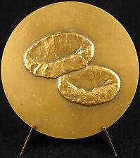 Médaille Jean Bernard médecin hématologue hématology Red blood cell 1977 medal