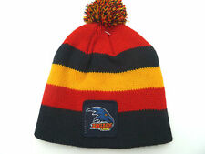 New AFL Adelaide Crows Baby Toddler Beanie Pompom