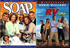 Soap - The Complete First Season (DVD, 2003, 3-Disc Set) & RV (DVD, 2006, WS)