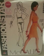 M6699 McCall's Plus Women's NBC Fashion Star Easy Sewing Patterns Sizes 14-22