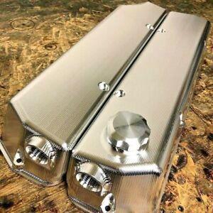 Billet Rocker Covers - Holden V8 EFI 304 5 Litre 5.0 VN Heads  - Raw