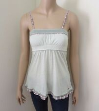 NWT Hollister Womens Vintage Babydoll Tank Top Size XS Shirt Green