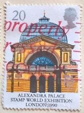 Great Britain stamps - Alexandra Palace Stamp World London 1990 20p - FREE P & P
