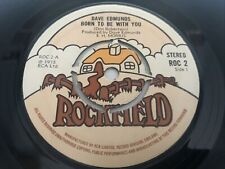 """New listing Dave Edmunds - Born To Be With You 7"""" Vinyl Single Record"""