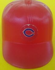 1969 Cleveland Indians Vintage mini Cap hat gumball machine Baseball bat helmet