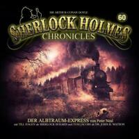 SHERLOCK HOLMES CHRONICLES - ALBTRAUM-EXPRESS FOLGE 60   CD NEW