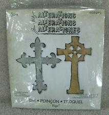 "Sizzix Tim Holtz Alterations Bigz Die ""Ornate Crosses"" #658245"