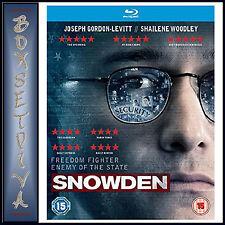 SNOWDEN - Joseph Gordon-Levitt **BRAND NEW BLU-RAY***