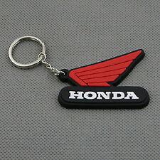 Porte Clé HONDA Noir ou Blanc MOTO CLEF Hornet Cafe Racer CB 750 CBR Cx Sv Xv..