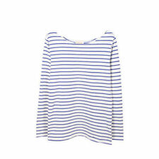 Regular Size Casual Striped Tops & Blouses for Women