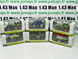 TRI12 : 6 X 3 inches 1/64 NOREV CLAAS Tracteurs Moissonneuse