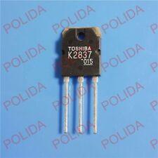 10PCS MOSFET Transistor TOSHIBA TO-3P 2SK2837 K2837