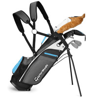 """""""NEW 2019"""" TAYLORMADE RORY COMPLETE BOYS JUNIOR GOLF SET AGE 4 PLUS + FREE GIFT"""
