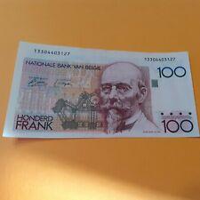 Belgique sans SIGNATURE AU DOS billet 100 francs Bayert   VARIETE
