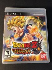Dragon Ball Z [ Ultimate Tenkaichi ] (PS3) USED