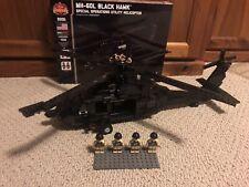 Brickmania Mh-60L Black Hawk Helicopter