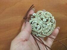 Natural hand-carved beautiful Pegasus Lantian jade pendant a symbol of courage