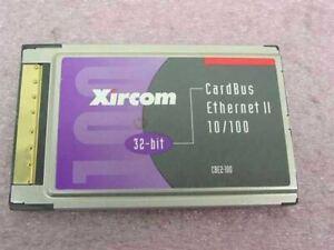 Xircom CBE2-100 CardBus Ethernet II 10/100 - 32 Bit - No Dongle