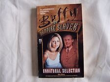 Mel Odom BUFFY THE VAMPIRE SLAYER - UNNATURAL SELECTION P/B 1999 VGC