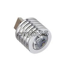 1PCS Aluminum 3W USB LED White  Lamp Socket Spotlight Flashlight White Light