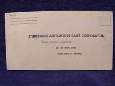 New ListingOriginal Pre-1960 Studebaker Product Service Report Form Booklet ~ Unused