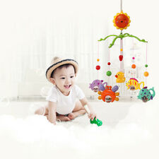ABS Baby Child Kids Crib Mobile Bed Bell Sound Toy Holder Arm Bracket Wind Music