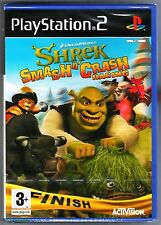 PS2 Shrek Smash N 'CRASH RACING (2007), Reino Unido PAL, nuevo y sellado de fábrica de Sony