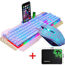 M398 2nd USB Game Keyboard Gamer Mouse Set For PS4 Xbox one Nintendo LED Backlit