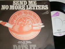 "7"" - Glenn Hughes & Trapeze Send me no more Letters & Dats it - 1975 # 6013"