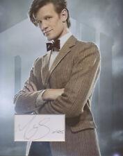 MATT SMITH Signed 10x8 Photo Display DR WHO DALEKS COA