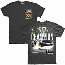 Martin Truex Jr 2017 CFS #78 Monster Energy Series Champion 2 Spot Black Tee