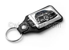 WickedKarz Cartoon Car Vauxhall Astra MK5 VXR/SRi in Black Key Ring
