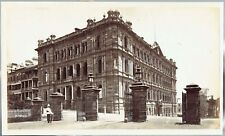 Colonial Secretaries Building, Sydney, Australia.  1880s Albumen Photograph