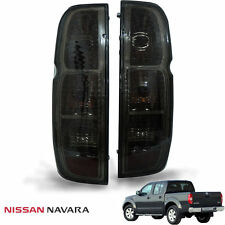 For 05-13 Nissan Frontier Navara D40 Tail Light Lamp Rear Smoke Black Len