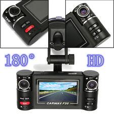 New 1080 HD Dual Len Car Camera Vehicle DVR Dash Cam Video Recorder Night Vision