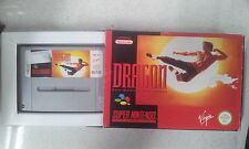 Dragon The Bruce Lee Story Nintendo SNES Boxed PAL Version