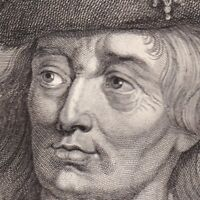 Portrait XVIIIe Robert I De Flandres Régent Robert Le Frison Robrecht I de Fries
