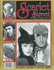 EO 1994 REVUE SCARLET STREET N° 13 SHERLOCK HOLMES - IDA LUPINO - VINCENT PRICE