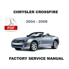 CHRYSLER  CROSSFIRE 2004 - 2008 SUPERCHARGED V6 FACTORY ELECTRICAL REPAIR MANUAL