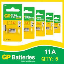 GP alcalino alta tensione 11a BATTERIA CARD di 5 [ entrata telecomandi, batterie giocattolo ]