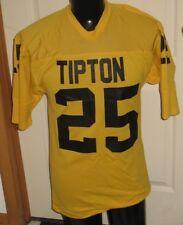 Vintage Tipton Tigers High School Iowa Medalist Game Used Football Jersey Large
