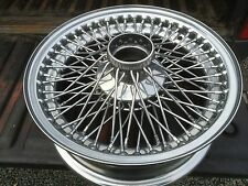 TUDOR WHEELS Classic Jaguar Wheel Restoration Chrome Mark Mk 1 2 S Type SS Mk 7